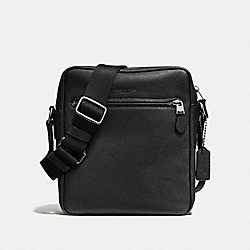 METROPOLITAN FLIGHT BAG - F72331 - BLACK/BLACK ANTIQUE NICKEL