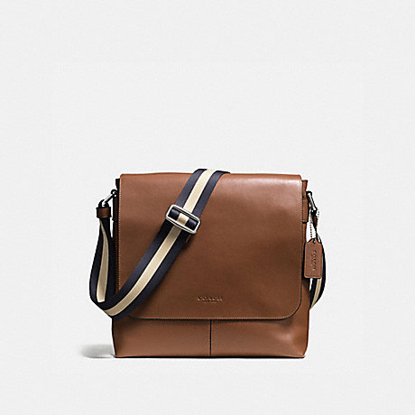 3e1ad49a1982 COACH F72362 - CHARLES SMALL MESSENGER IN SPORT CALF LEATHER - DARK ...