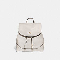 COACH F72645 - ELLE BACKPACK CHALK/IMITATION GOLD