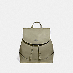 COACH F72645 Elle Backpack LIGHT CLOVER/SILVER