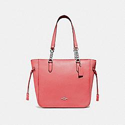 COACH F72650 Elle Chain Tote ROSE PETAL/SILVER