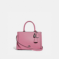 COACH F72667 - SMALL ZOE CARRYALL QB/PINK ROSE