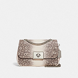COACH F72669 - CASSIDY CROSSBODY CHALK/SILVER