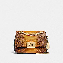 MINI CASSIDY CROSSBODY - F72671 - MUSTARD/GOLD