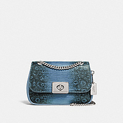 MINI CASSIDY CROSSBODY - F72671 - CORNFLOWER/SILVER