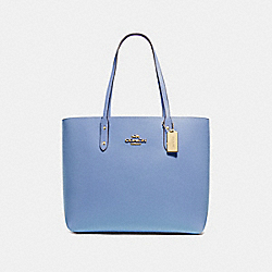 COACH F72673 Town Tote DARK PERIWINKLE/GOLD