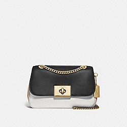 COACH F72686 Cassidy Crossbody In Colorblock CHALK MULTI/IMITATION GOLD