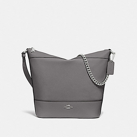 COACH F72692 PAXTON DUFFLE HEATHER GREY/SILVER