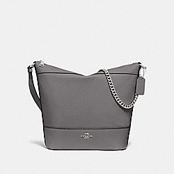 PAXTON DUFFLE - F72692 - HEATHER GREY/SILVER