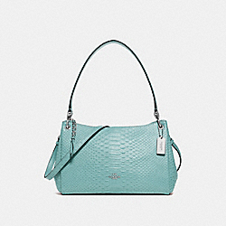 SMALL MIA SHOULDER BAG - F72701 - SEAFOAM/SILVER