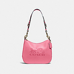 COACH F72702 - JES HOBO PINK RUBY/GOLD