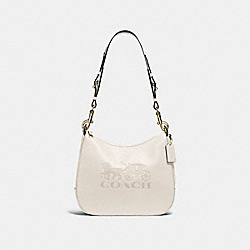 COACH F72702 Jes Hobo CHALK/GOLD