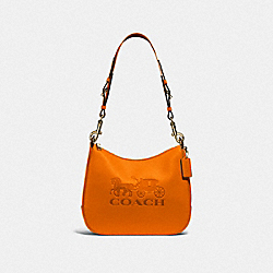 COACH F72702 Jes Hobo DARK ORANGE/IMITATION GOLD