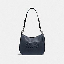 COACH F72702 - JES HOBO MIDNIGHT/SILVER