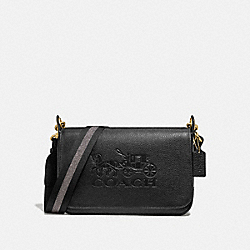 COACH F72703 Jes Messenger BLACK/GOLD