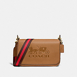 COACH F72703 Jes Messenger LIGHT SADDLE/GOLD