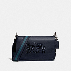COACH F72703 Jes Messenger MIDNIGHT/SILVER