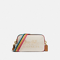 JES CROSSBODY IN COLORBLOCK - F72704 - CHALK