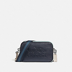 JES CROSSBODY IN COLORBLOCK - F72704 - MIDNIGHT/MULTI/SILVER