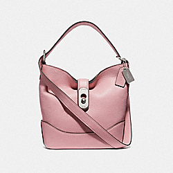 AMBER DUFFLE - F72807 - CARNATION/SILVER