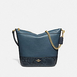 PAXTON DUFFLE - F72851 - DARK DENIM