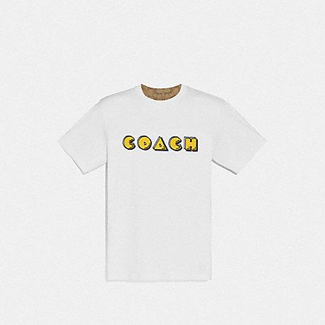 COACH F72883 PAC-MAN T-SHIRT WHITE