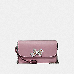 COACH F72903 Chain Crossbody With Bow Turnlock TULIP