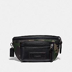 COACH F72928 Terrain Belt Bag With Pixelated Camo Print DARK GREEN MULTI/BLACK ANTIQUE NICKEL