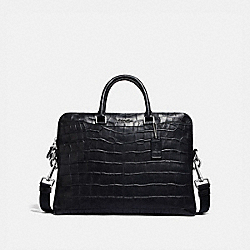 COACH F72970 - BECKETT PORTFOLIO BRIEF BLACK/NICKEL
