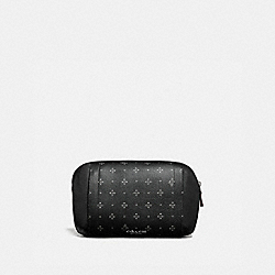 COACH F73013 - GRAHAM UTILITY PACK WITH DIAMOND FOULARD PRINT BLACK/MULTI