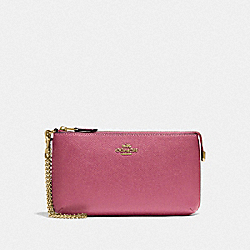 LARGE WRISTLET - F73044 - ROUGE/GOLD