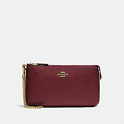COACH F73044 - LARGE WRISTLET IM/WINE