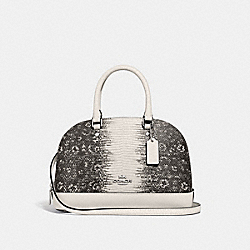MINI SIERRA SATCHEL - F73059 - CHALK/SILVER