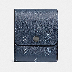COACH F73084 - GROOMING KIT WITH DOT ARROW PRINT NAVY/MULTI