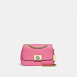 MINI CASSIDY CROSSBODY - F73089 - PINK RUBY/GOLD