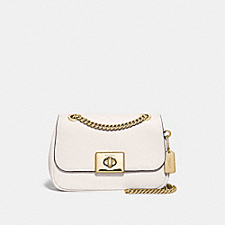 MINI CASSIDY CROSSBODY - F73089 - CHALK/IMITATION GOLD