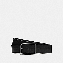 COACH F73136 Modern Harness Cut-to-size Reversible Belt BLACK