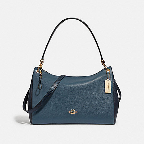 COACH F73174 MIA SHOULDER BAG DARK DENIM