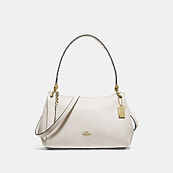 COACH F73196 - SMALL MIA SHOULDER BAG CHALK/GOLD