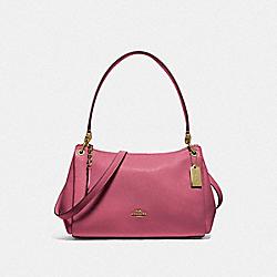 COACH F73196 Small Mia Shoulder Bag ROUGE/GOLD