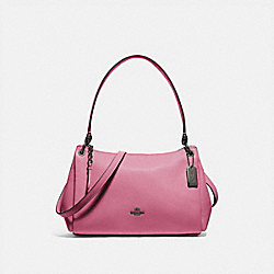 SMALL MIA SHOULDER BAG - F73196 - QB/PINK ROSE