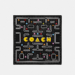 COACH F73305 Pac-man Silk Bandana BLACK