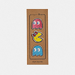 COACH F73502 Pac-man Pin Set MULTICOLOR