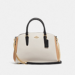 COACH F73713 - SAGE CARRYALL IN COLORBLOCK CHALK