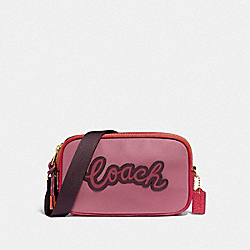 COACH F73776 - VALE CROSSBODY POUCH ROUGE MULTI/IMITATION GOLD