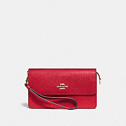 COACH F73793 - FOLDOVER WRISTLET IM/BRIGHT RED