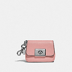 COACH F73858 Mini Cassidy Coin Case IM/PINK PETAL