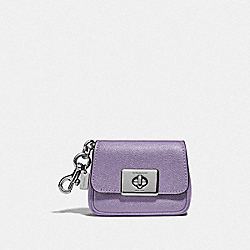 COACH F73858 Mini Cassidy Coin Case SV/LILAC