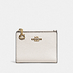 COACH F73867 - SNAP CARD CASE IM/CHALK