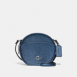 CANTEEN CROSSBODY - F73971 - MIDNIGHT NAVY/SILVER